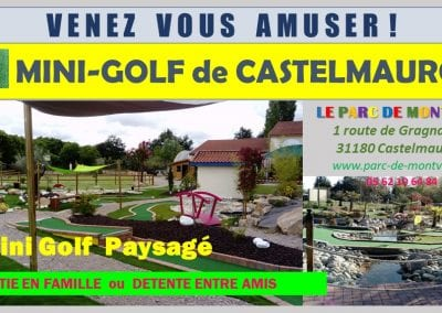 Mini-Golf Castelmarou
